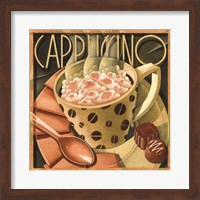 Framed Cappuccino & Cafe B