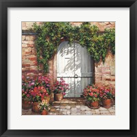 Framed Stone Stairway Petites A