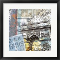 Framed Paris Arc