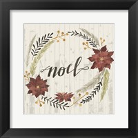 Framed Rustic Christmas I