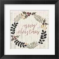 Framed Rustic Christmas III