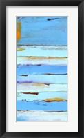 Blue Jam I Framed Print