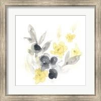 Framed Citron Bouquet II