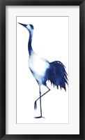 Framed Ink Drop Crane II