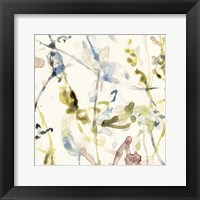 Framed Flower Drips I