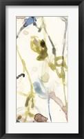 Flower Drip Triptych I Framed Print
