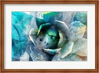 Framed Agave Abstract I