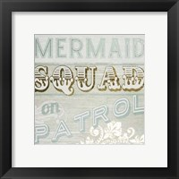 Framed Gold & Beachy IV
