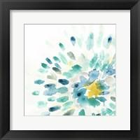 Framed Starburst Floral II