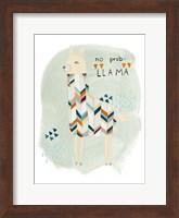 Framed Llama Squad I