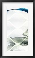 Minimal Wave I Framed Print