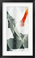 Minimal Wave II Framed Print