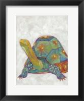 Framed Turtle Friends II
