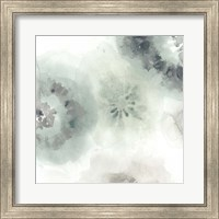 Framed Lily Pad Watercolor II