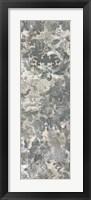 Weathered Damask Panel II Framed Print