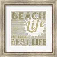 Framed Little Beachy II