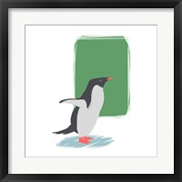 Framed Minimalist Penguin, Boys Part I