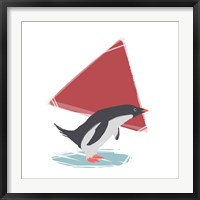 Framed Minimalist Penguin, Boys Part III