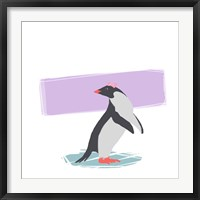 Framed Minimalist Penguin, Girls Part I