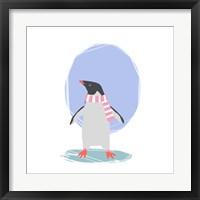 Framed Minimalist Penguin, Girls Part II