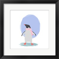 Framed Minimalist Penguin, Girls Part II