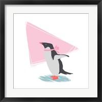 Framed Minimalist Penguin, Girls Part III