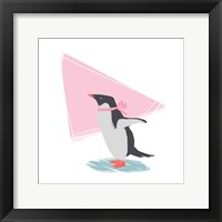 Framed Minimalist Penguin, Girls Part III