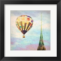 Framed Chrysler Balloon