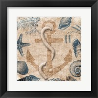 Framed Anchor Cream