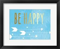 Framed Be Happy