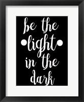 Framed Light In The Dark