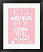 Framed Measured Moments