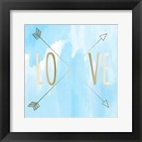 Framed Love Arrow