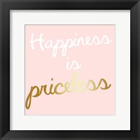 Framed Priceless Happiness