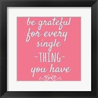 Framed Be Grateful