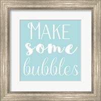 Framed Bubble Making