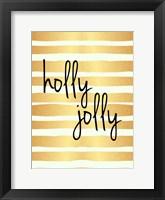 Framed Holly Jolly