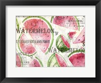 Framed Watermelon Summer