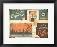 Framed Coffee Stamps 1