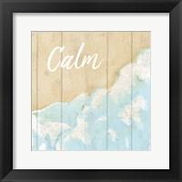 Framed Seaside  Calm