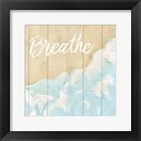 Framed Seaside Breathe