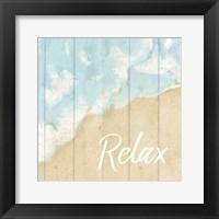 Framed Seaside Relax