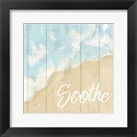 Framed Seaside Soothe