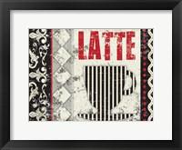 Framed Latte Sipping 3
