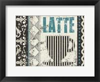 Framed Latte Sipping 1