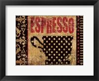 Framed Expresso Buenisimo 2