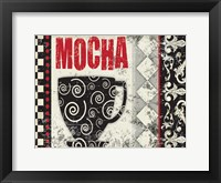 Framed Mocha Chocolat 3