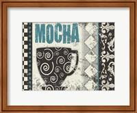 Framed Mocha Chocolat