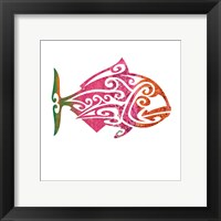 Framed Tribal Koi 4