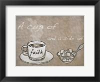 Framed Cup Of Prayer